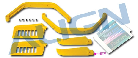 H50076-06 500 Upgrade Parts Assembly/Yellow