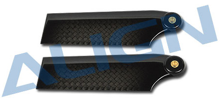 H50144 3K Carbon Fiber Tail Blade Use for T-REX 500