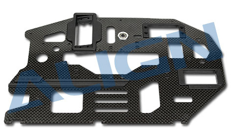 H60210 600PRO Carbon Main Frame(L)/2.0mm Use for T-REX 600E PRO
