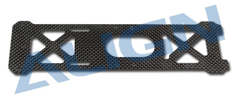 H60212 600PRO Carbon Bottom Plate/1.6mm Use for T-REX 600E PRO /