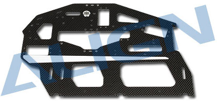 H70042A- Carbon Main Frame(R) / 2mm Use for T-REX 700E