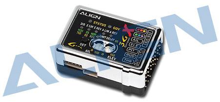 bac528f686 HEG3GX01T 3GX Programmable Flybarless System versione 2.0. Clicca per  ingrandire