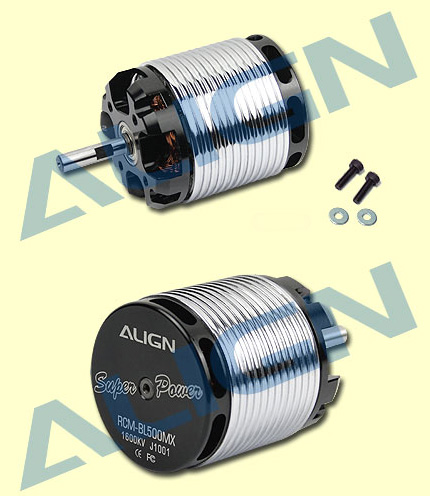 HML50M02 500MX Brushless Motor(1600KV) RCM-BL500MX Use for T-REX