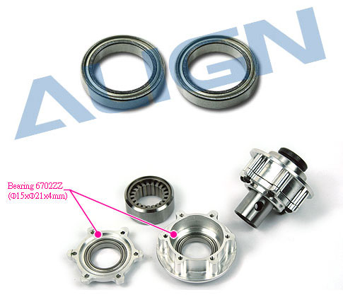 HN7070 Bearing (6702ZZ) Cuscinetti a sfera Use for T-REX 700 Nit