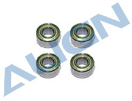 HS1030 Bearings (MR63ZZ) Bearing MR63ZZ x 4 (3x6x2.5mm)