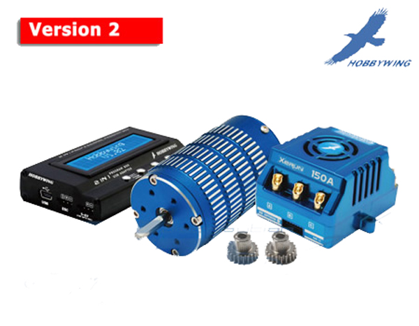 HWG002 XERUN Series Brushless Power System For 1/8 Car (Combo)