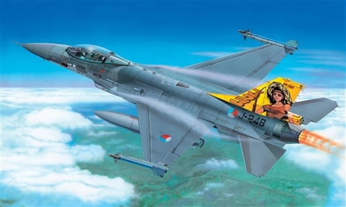 Italeri 1271 - scala 1 : 72 F-16 A/B FIGHTING FALCON