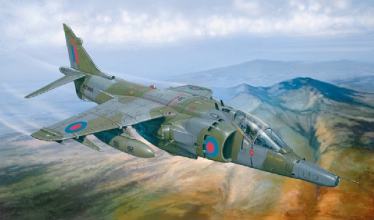 Italeri 1278 - scala 1 : 72 HARRIER GR.3