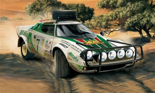 Italeri 3693 - scala 1 : 24 STRATOS RALLY