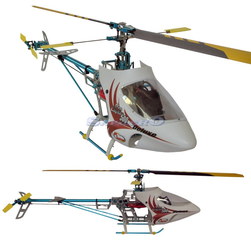 RC4001 PRO COPTER 500 DE LUXE BRUSHLESS con 1cp pale carbon