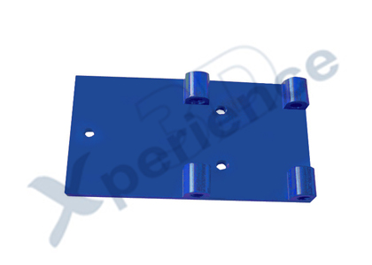 XP4124 Metal Battery Mounting Plate Set