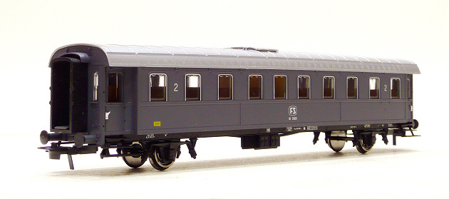 ACME 50474 Carrozza a due assi tipo 1936 di 2? cl. BI 35021