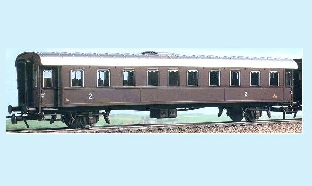 ACME 55020B Carrozza a due assi tipo 1936 di 2? cl. BI 35.025