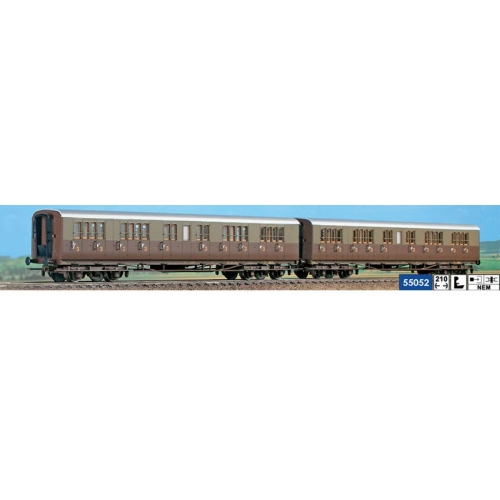 ACME 55052 Set due Carrozze centoporte FS a salone di III cl liv