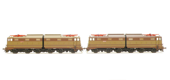 ACME 60121 FS E645 039 pi� E645 068 set due locomotive elettrich
