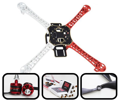 DJI4500 Flame Wheel F450 ARF Kit