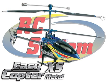 EASY COPTER XS METAL BLU 2,4 GHz MODE 1