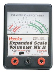 Hobbico Expanded Scale Voltmeter MKII HCAP0351