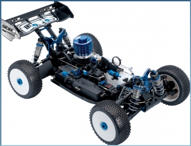 LRP S8 BXR Evo - 1/8 Nitro Team Kit
