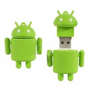 Penna USB 4 GB stile Android robot
