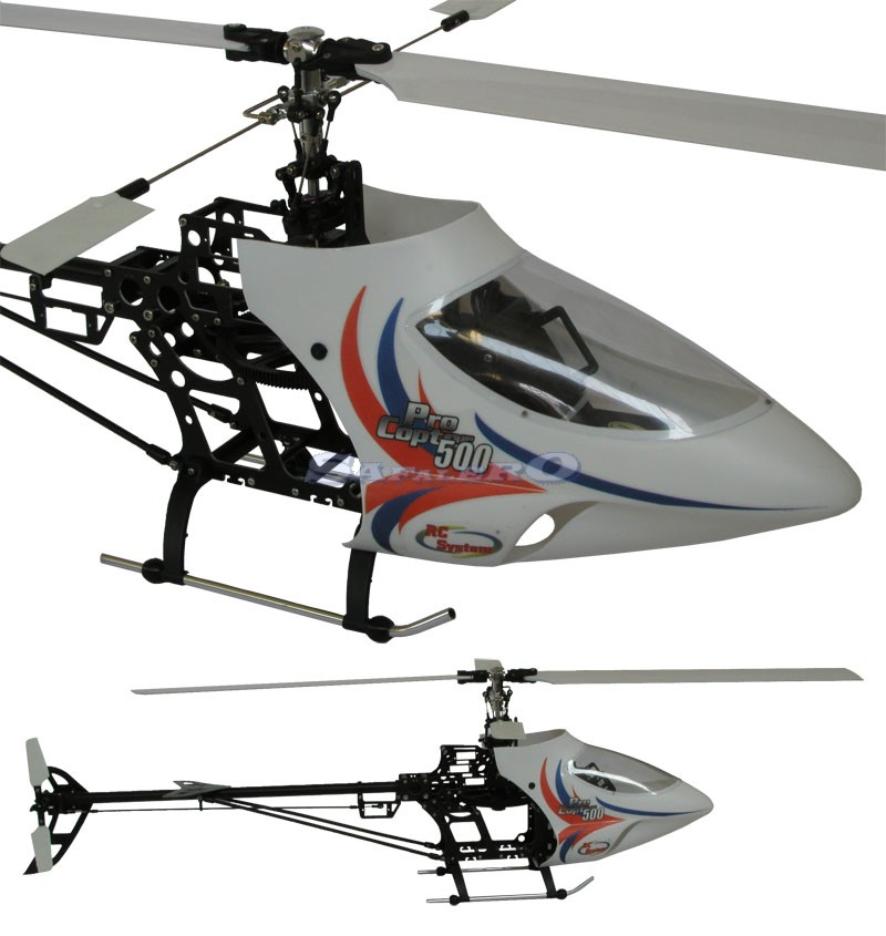 RC4000 - PRO COPTER 500 BRUSHLESS, ESCversione completa di regol