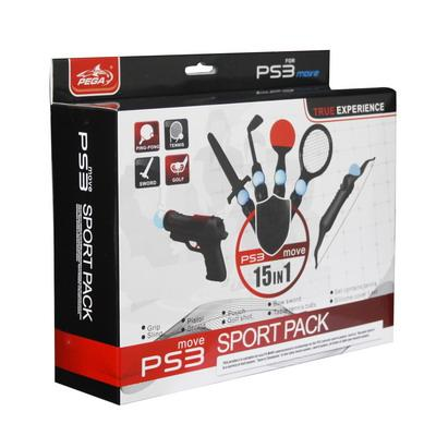Set sports move pack 15 in 1 per PS3