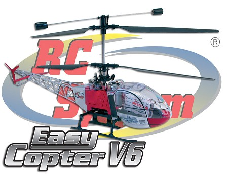 EASY COPTER V6 2,4 GHz MODE 1